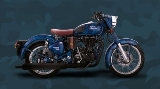 Royal Enfield Despatch Squadron Blue colour option