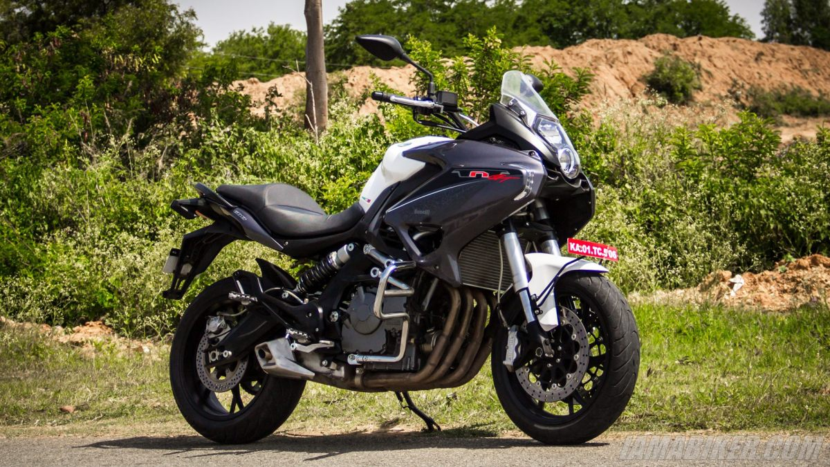 DSK Benelli TNT 600 GT First Ride Review