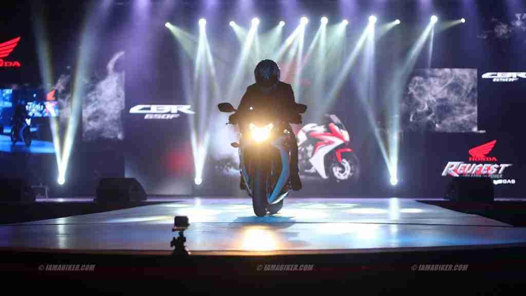 CBR650F Honda Revfest Bangalore