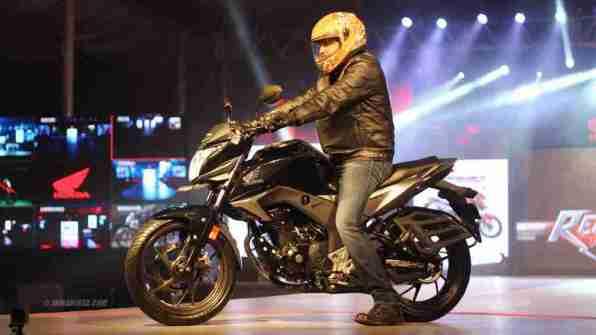 Honda CB Hornet 160R at Honda Revfest Bangalore
