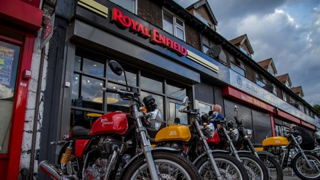 Royal Enfield UK Store at Mitcham