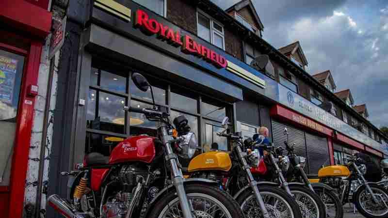 Royal Enfield UK Store at Mitcham