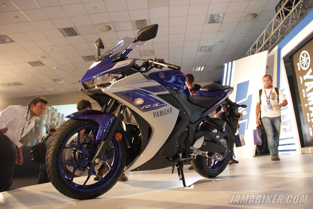 Yamaha YZF-R3 launch