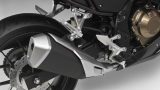 2016 Honda CBR500R new exhaust