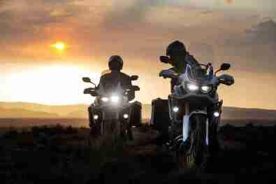 2016 Honda CRF1000L Africa Twin LED headlights