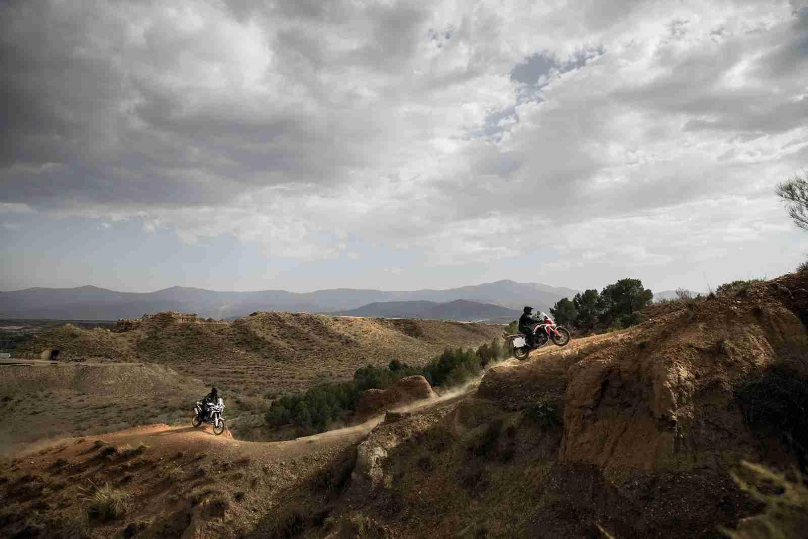 2016 Honda CRF1000L Africa Twin hill climb