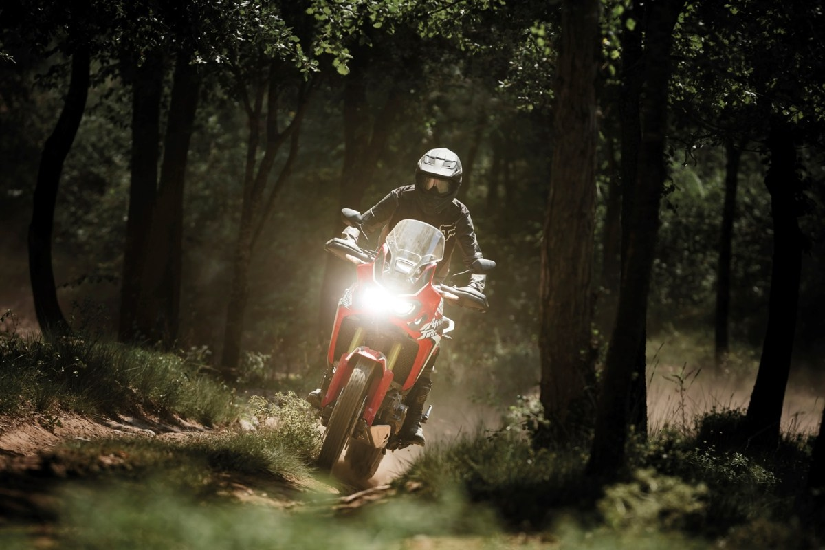 2016 Honda CRF1000L Africa Twin forest trail