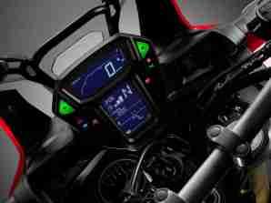 2016 Honda CRF1000L Africa Twin speedometer