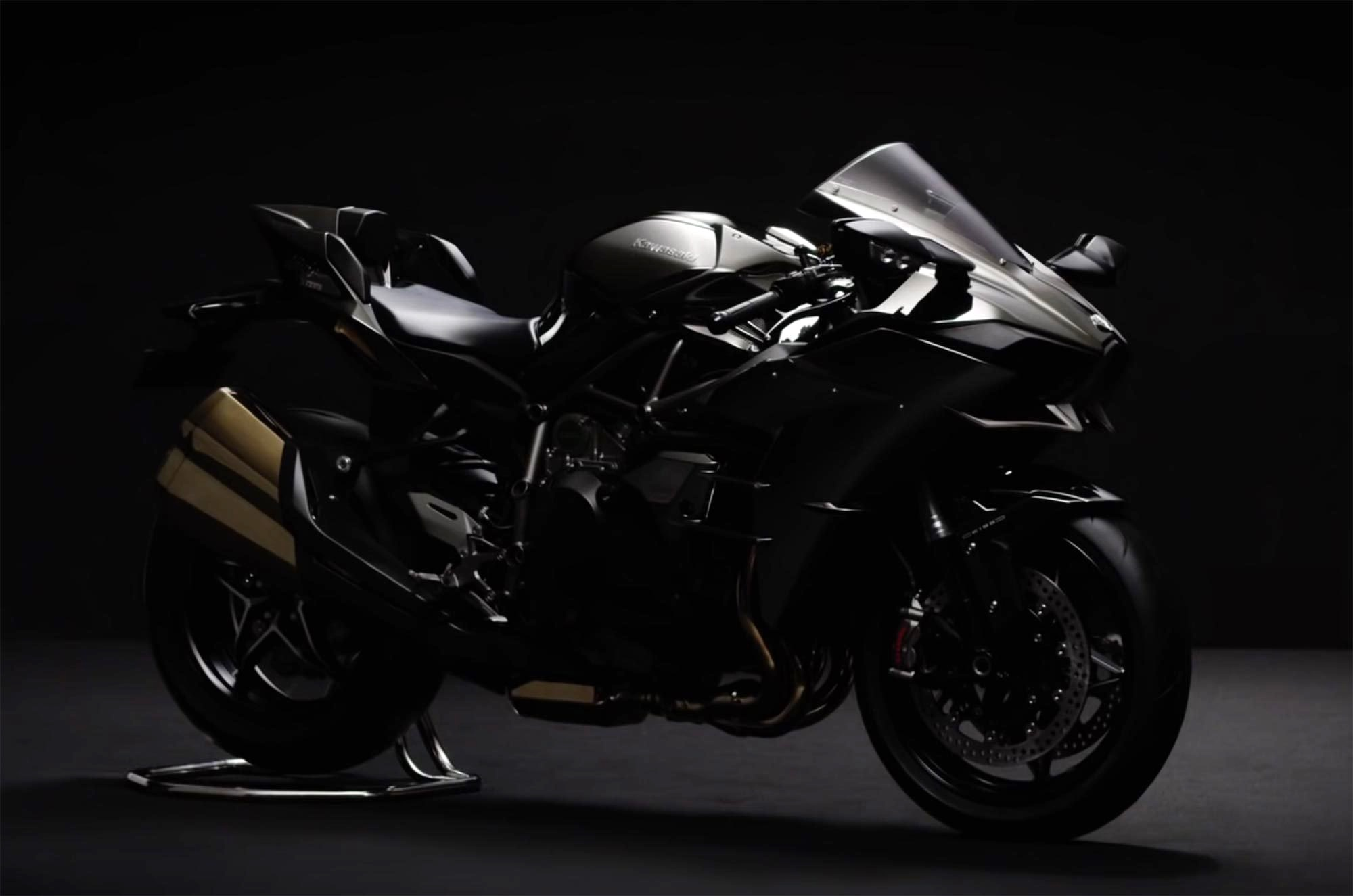 2016 Kawasaki Ninja H2 Spark Black colour option