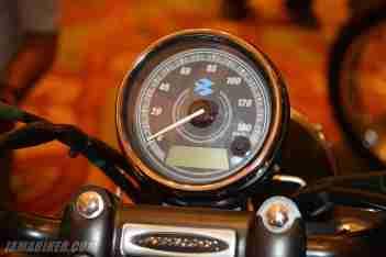 New Bajaj Avenger speedometer