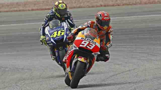 Rossi vs Marquez MotoGP Sepang 2015