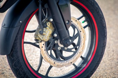 Pulsar AS 200 front tyre