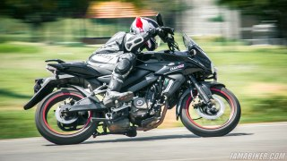 Pulsar AS 200 review - Handling and braking