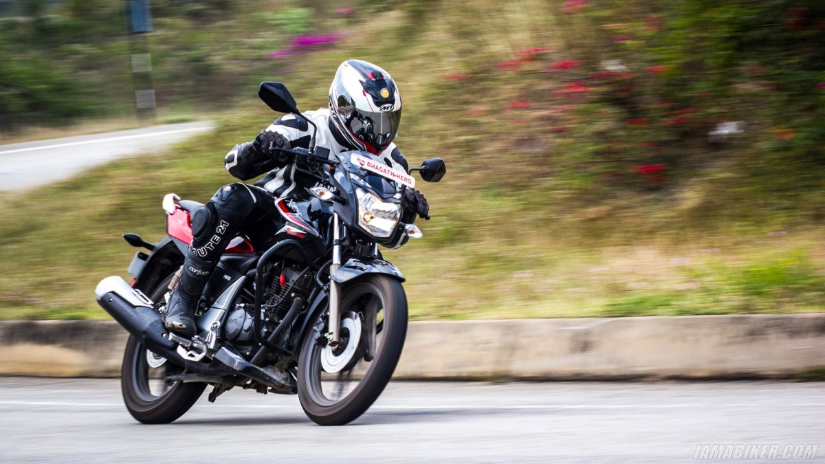 Hero Xtreme Sports review handling and braking