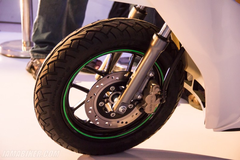 Ather Energy - S340 electric scooter front disc brake