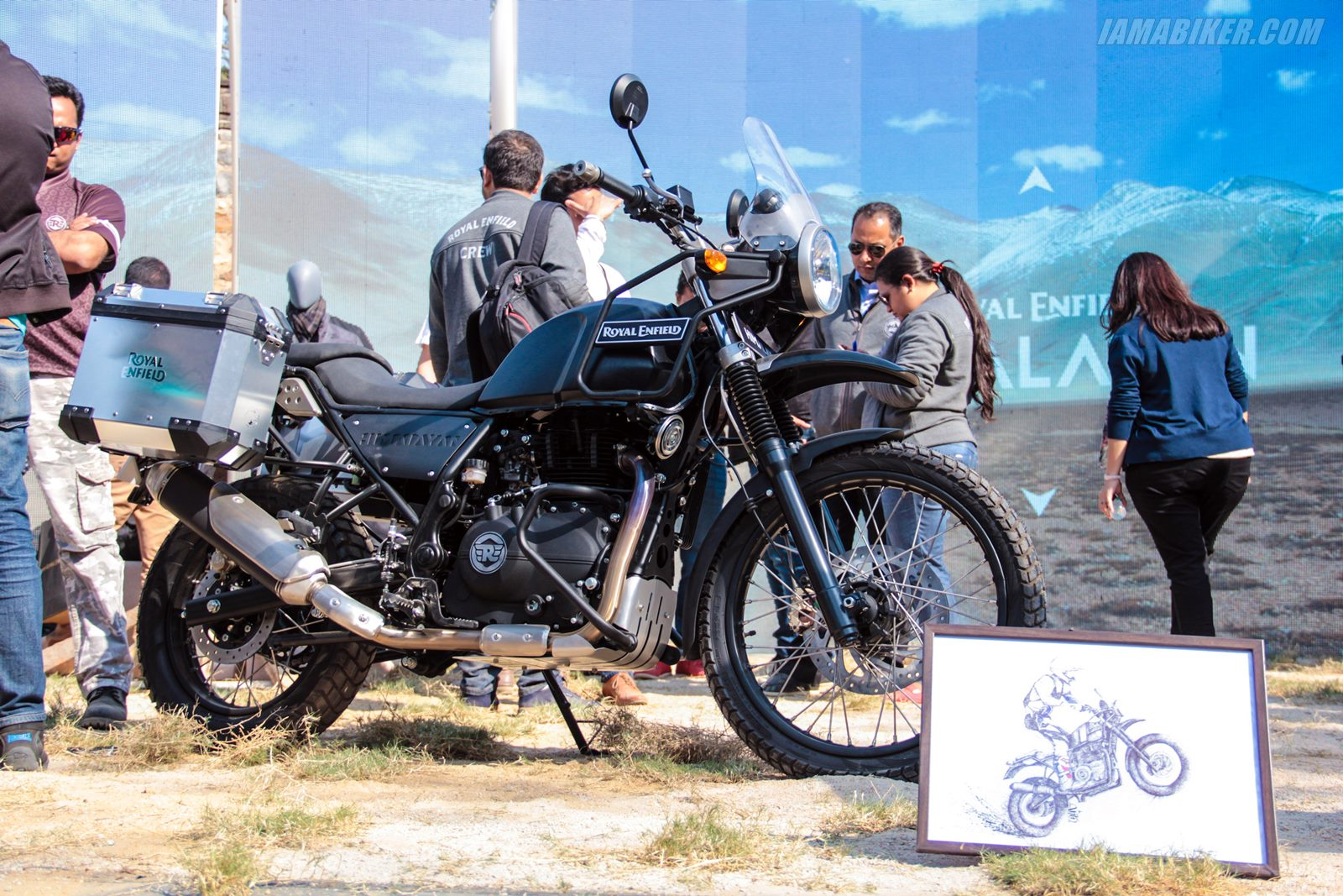 Royal Enfield Himalayan unveiled