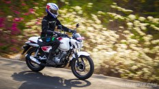 Bajaj V15 first ride