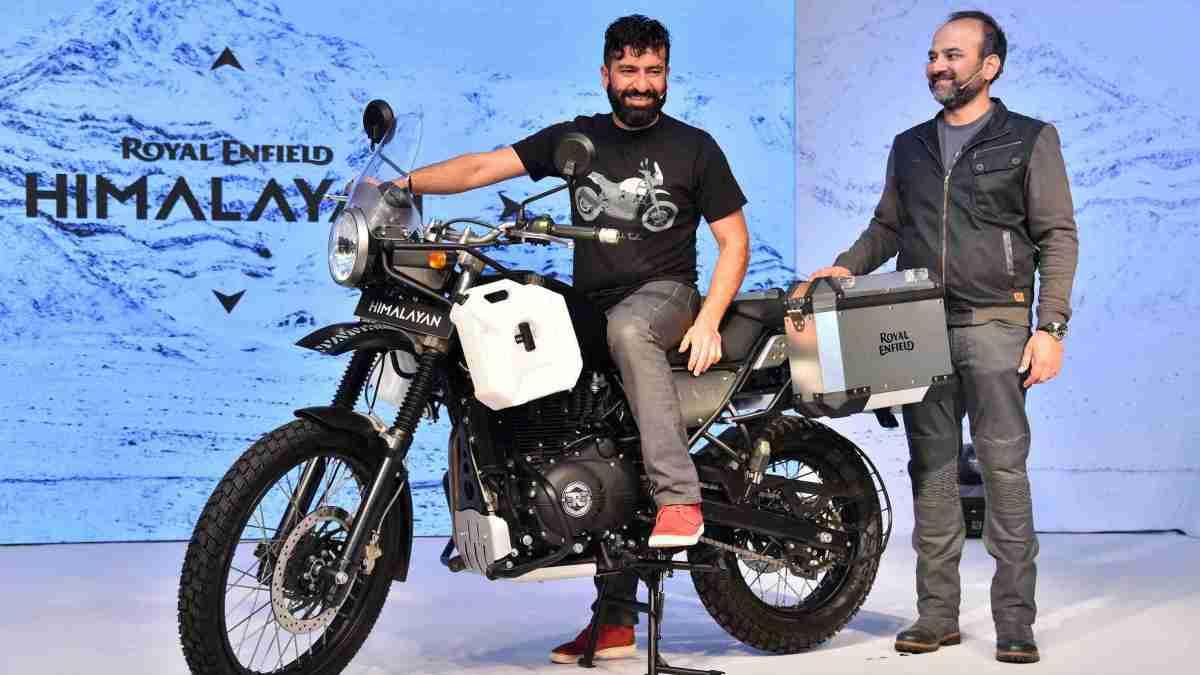 Royal Enfield launches Himalayan