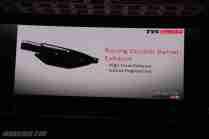 TVS Apache RTR 200 exhaust