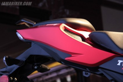 TVS Apache RTR 200 tail section
