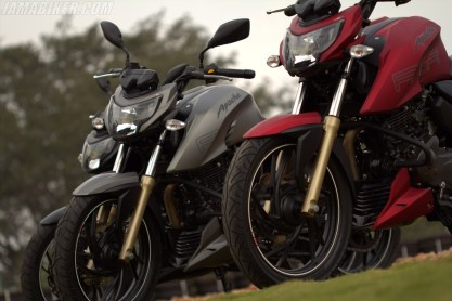 TVS Apache RTR 200 colour options