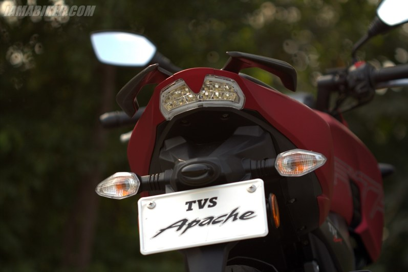 TVS Apache RTR 200 tail light