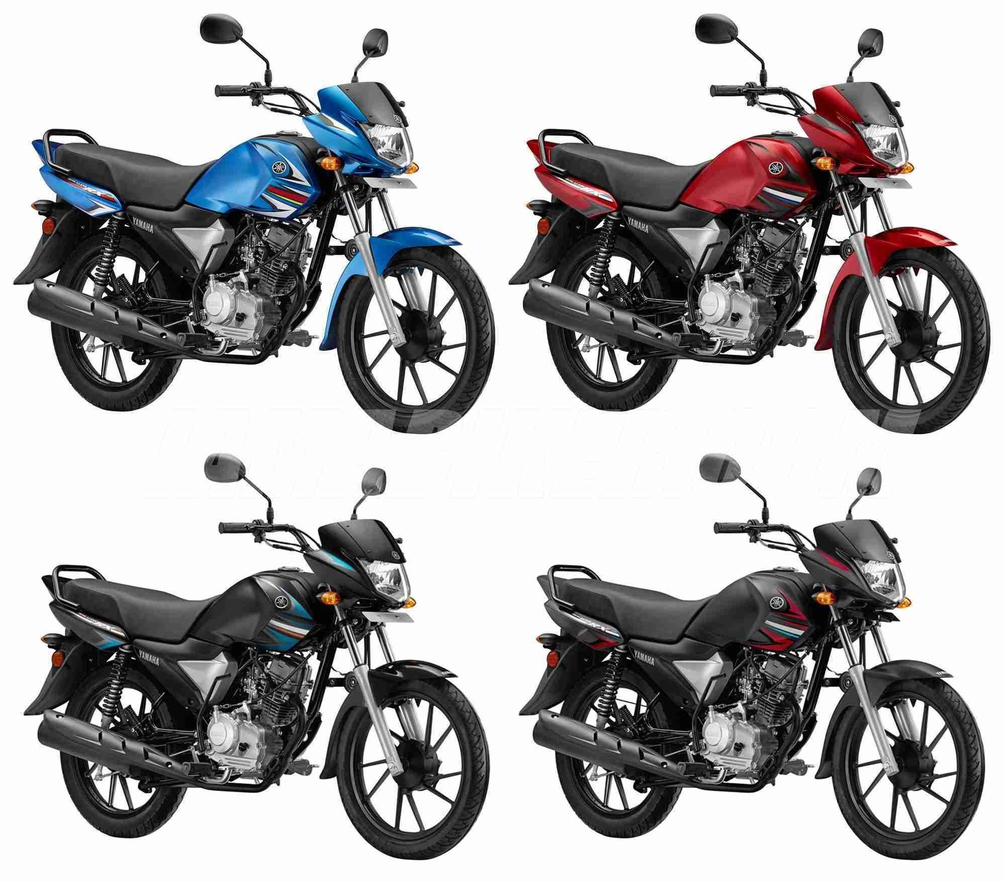 Yamaha Saluto RX colour options