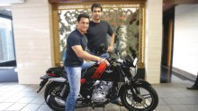 Aamir Khan with Rajiv Bajaj