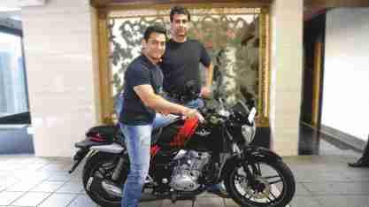 Aamir Khan with Rajiv Bajaj