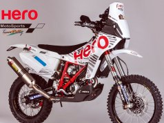 Hero MotoSports Team Rally Bike - Speedbrain 450 Rally