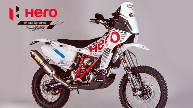 Hero MotoSports Team Rally Bike - Speedbrain 450 Rally