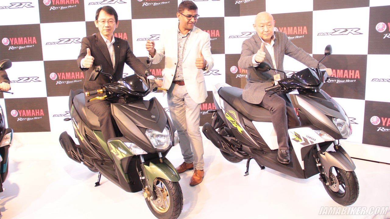 Yamaha Ray-ZR launch