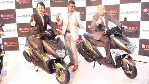 Yamaha Ray-ZR launch