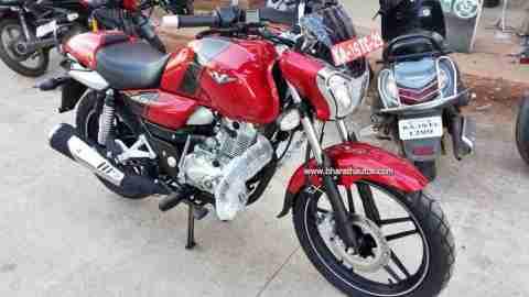 Bajaj V15 new colour option spotted