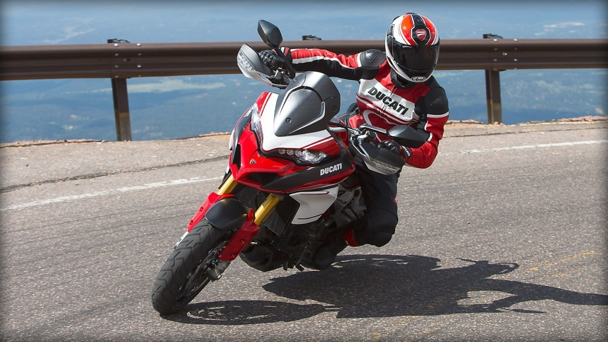 ducati multistrada 1200 pikes peak launched in india. Black Bedroom Furniture Sets. Home Design Ideas