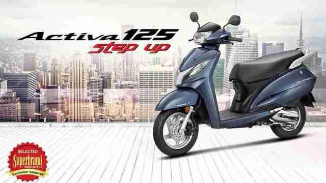 Honda Activa record sales