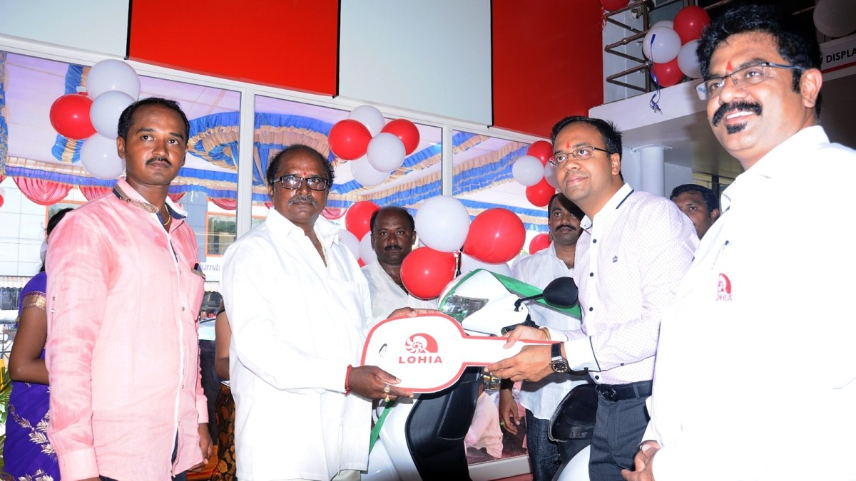 Lohia Auto Nellore dealership now open