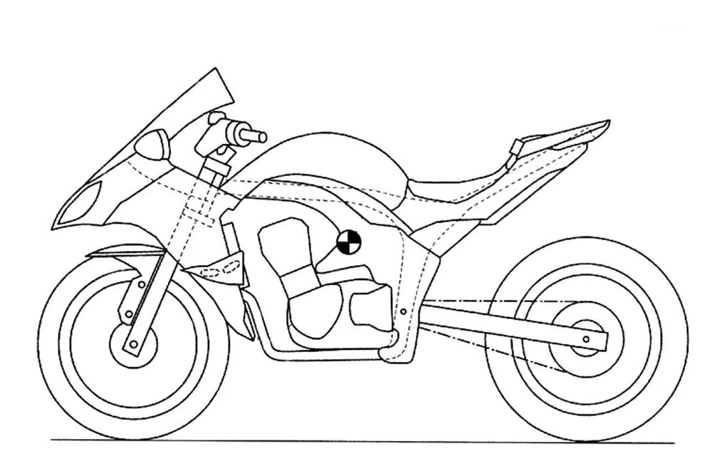 New Kawasaki Ninja 1000 patent drawings