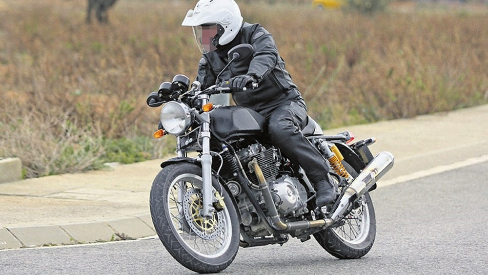 Royal Enfield 750 parallel twin