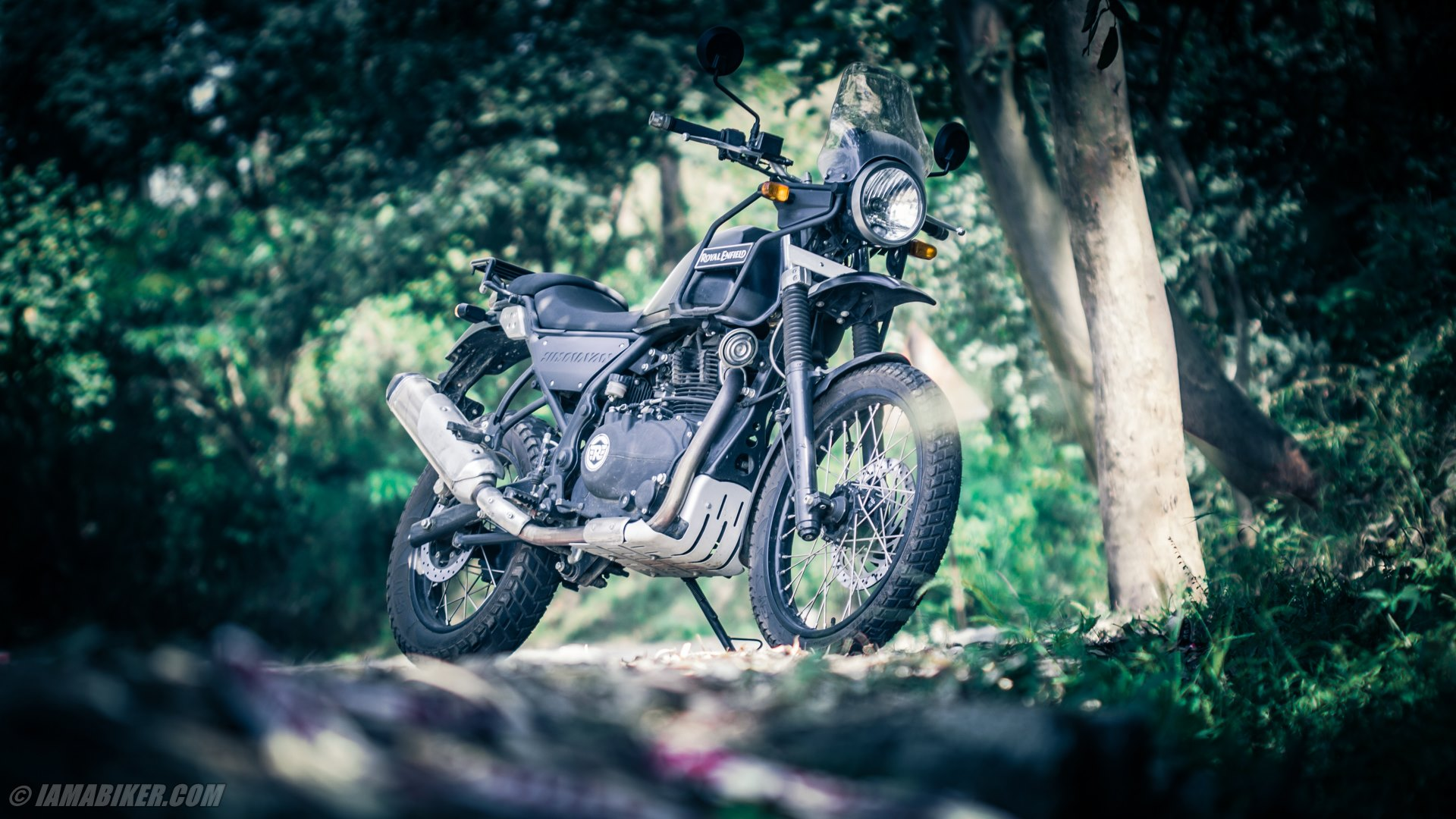Royal Enfield Himalayan Hd Wallpapers Iamabiker