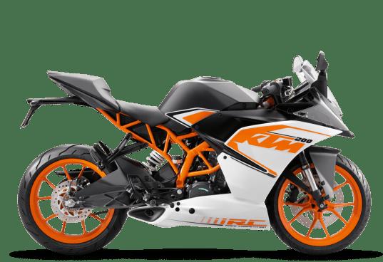 2017 KTM RC200