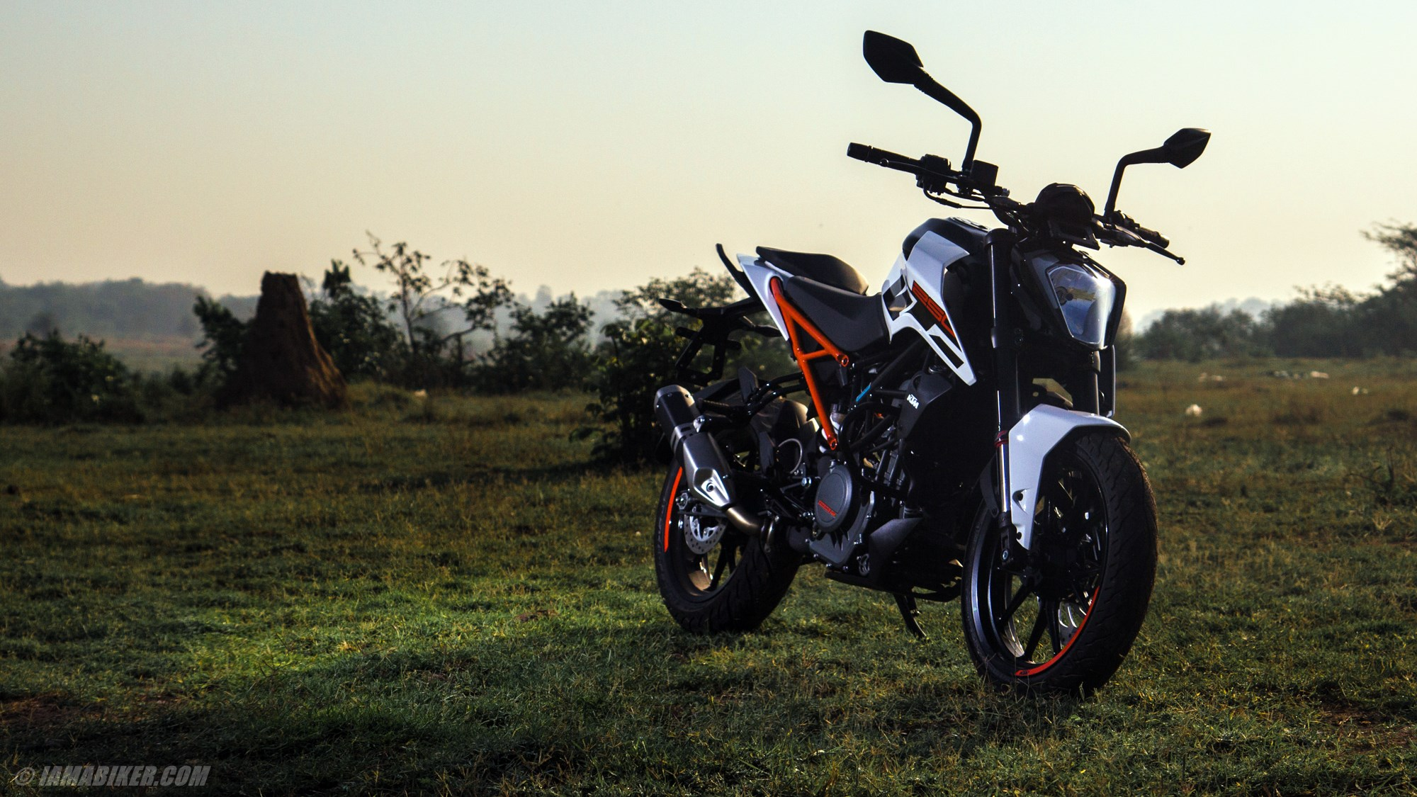 KTM Duke 250 HD wallpapers | IAMABIKER