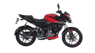 Pulsar NS 160 Passion red colour option