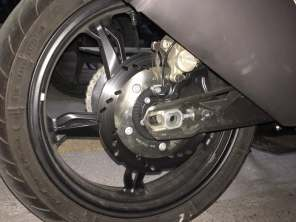 TVS Akula images (Apache RR 310S) rear disc