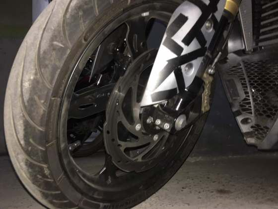 TVS Akula images (Apache RR 310S) front tyre