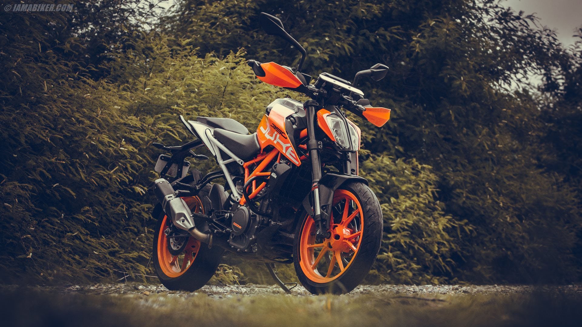 2017 KTM Duke 390 HD wallpapers