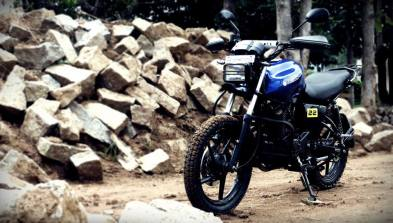 Yamaha SZ Adventure Build