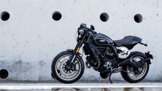 Ducati Scrambler Cafe Racer HD wallpaper