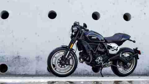 Ducati Scrambler Cafe Racer HD wallpaper