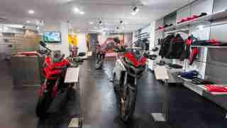 Ducati Kolkata showroom